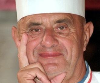 Paul Bocuse le pape des cuisiniers du monde entier